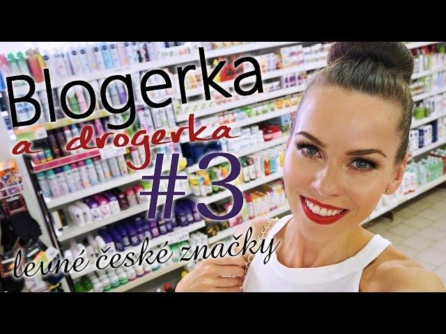 Blogerka a drogerka 3 - levné české značky | drogerie Jednota J. Hradec