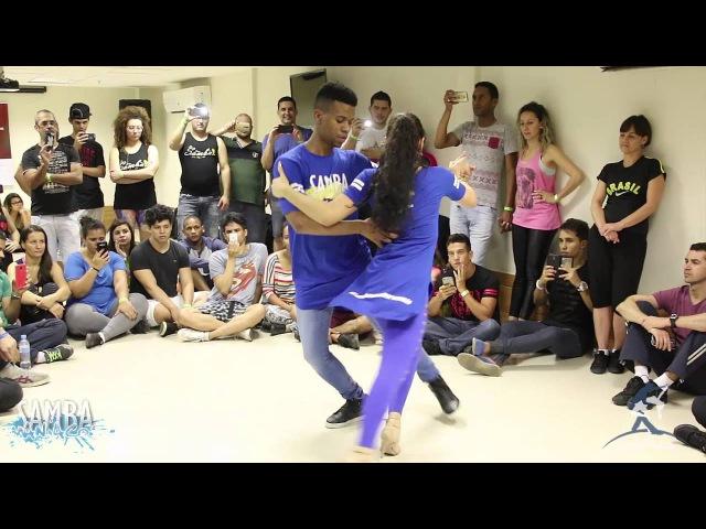 Baila Mundo Léo Fortes e Robertinha Stephanie Sambamaníacos 2016