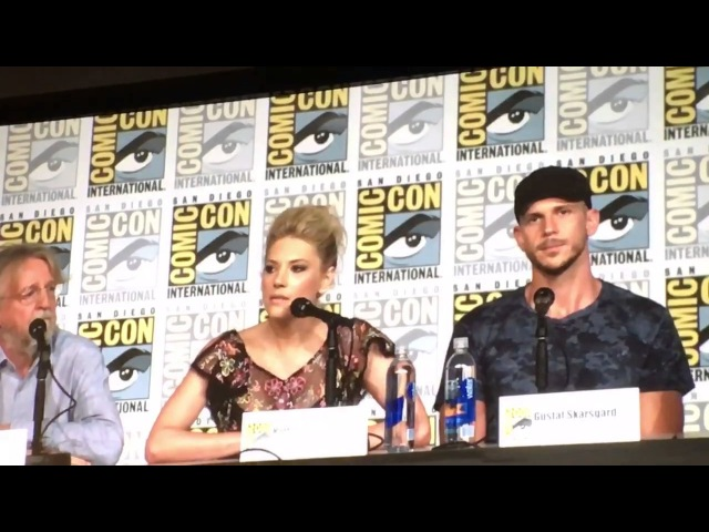 KATHERYN WINNICK TALKS ABOUT LAGERTHA BEING QUEEN IN VIKINGS / SDCC 2017