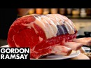 Stuffed Rib of Beef with Horseradish Yorkshire Puddings Gordon Ramsay