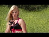 Boxing Girl vs Flexible Mute Girl Fight Scene (Super Groin Kick KO ⁄ Dead or Alive Style)