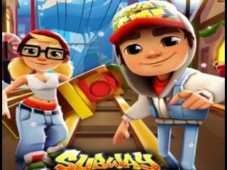 ✔ Мультик игра Собиратель Монет Дедуля хочет покормить внучка Сабвей Сёрф Subway surf