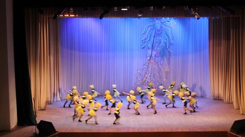 Бджілка образцовый ансамбль танца Джерельце фестиваль конкурс Квіти Зимцерли