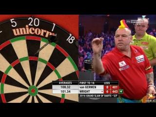 Michael van Gerwen vs Peter Wright (Grand Slam of Darts 2016 / Semi Final)