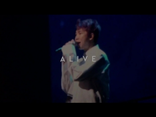 170219 BTS LIVE TRILOGY EPISODE III: THE WINGS TOUR in Seoul Day 2 - Rap Monster Reflection Fancam Preview (@ALIVE_RM)