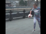 Француженка взорвала мир футбольного фристайла