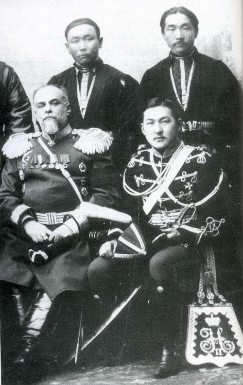 Калмыцкие князья Тундутовы