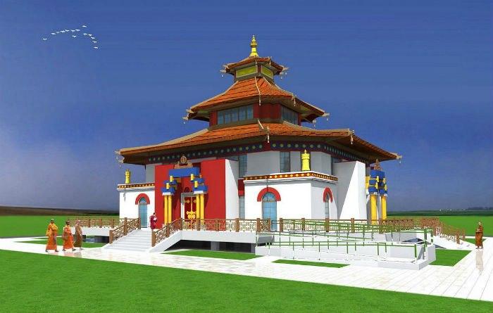 калмыцкий благотворительный фонд «Наследие» готовит строительство Международного буддийского культурного центра «Тундутово».