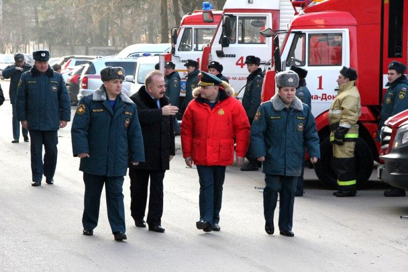 В Ростовской области подведут итоги года Южного регионального центра МЧС