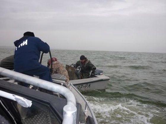 В Таганрогском заливе задержали украинца, занимавшегося браконьерской деятельностью