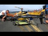 HUGE RC AS 350 ECUREUIL VARIO SCALE MODEL HELICOPTER DEMO FLIGHT _ United-RC-Flights Bayreuth 2016