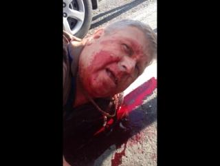 Майор полиции Сергей Кадацкий из охотничьего ружья убил бывшую жену и ранил ее отца на трассе Ростов-на-Дону - Таганрог. Мотивом