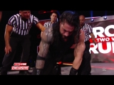Roman Reigns recovers after Raw goes off the air