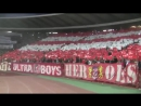 Koreografija Delija na Crvena Zvezda Ludogorec i Pukni Zoro Jasno i Glasno