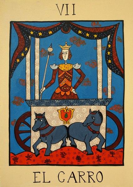 Tarot Der triumphwagen