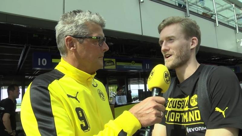 Interview mit André Schürrle Trainingslager 2017