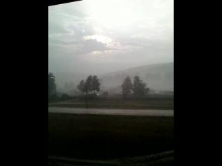 13 августа. В тени 30 градусов. Долгожданный дождь!