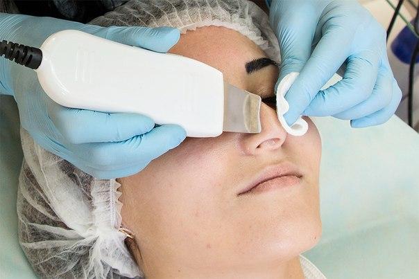 Сделать ультразвуковую чистку лица