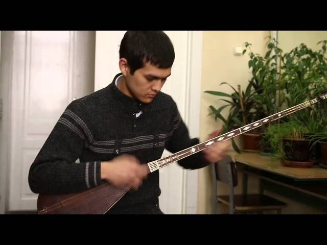 Dutar piece by a student from Tashkent Conservatory