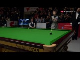 Tom Ford 147 MAXIMUM v Peter Ebdon German Masters 2017 (End of break)