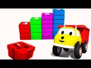 Строим лестницу из кубиков: учим цифры вместе с грузовичком Игорем | Развивающий мультик для детей