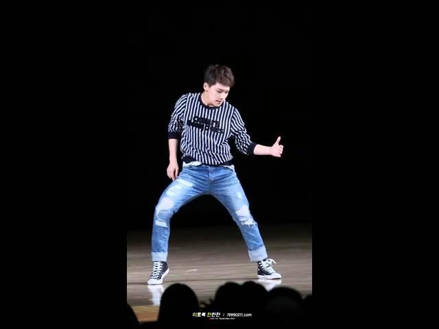 [Fancam] 151108 세븐틴 2집 막방 팬미팅 :: 프리스타일 댄스 (Chris Brown - zero)