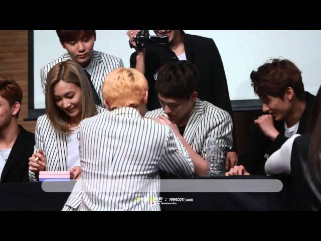 [Fancam] 151024 세븐틴 청량리 팬싸인회 :: 귀여운 차니와 지훈이