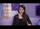 Weekly English Words with Alisha - Funny Sounding Words