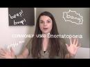 Weekly English Words with Alisha - Commonly Used Onomatopoeia