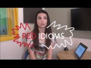 Weekly English Words with Alisha - Red Idioms