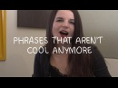 Weekly English Words with Alisha - Phrases that aren't cool anymore