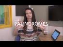 Weekly English Words with Alisha - Palindromes