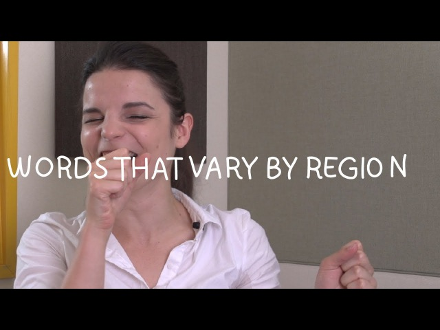 Weekly English Words with Alisha - Words that Vary by Region