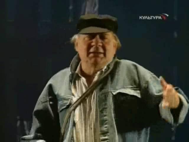 Монолог Тевье - Евгений Леонов