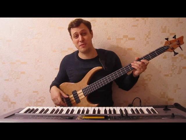 Импровизация на бас гитаре 1 Гармония Общие сведения Септаккорды