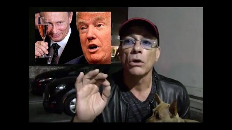 Ван Дамм предложил американцам выпить водки с Путиным