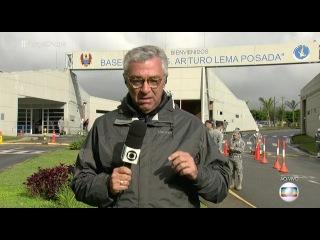 Repórter que chorou AO VIVO chora de novo AO VIVO