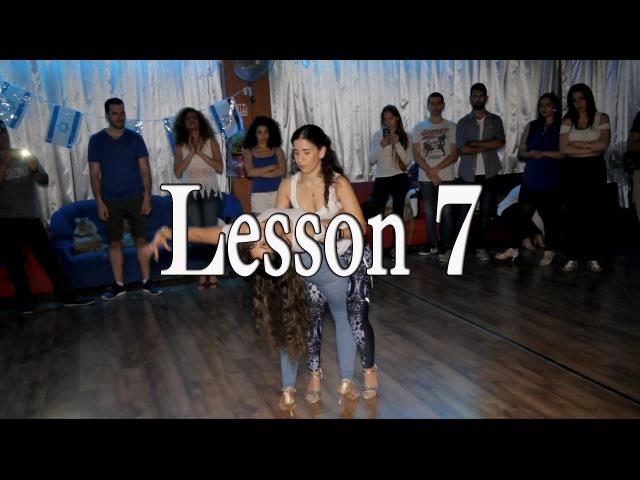 Lidar and Hadar Bachata Lesson 7 Wrecking Ball