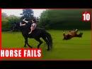 Funny Fall From Horse | Horse Falls Compilation | Смешные падения с лошадей