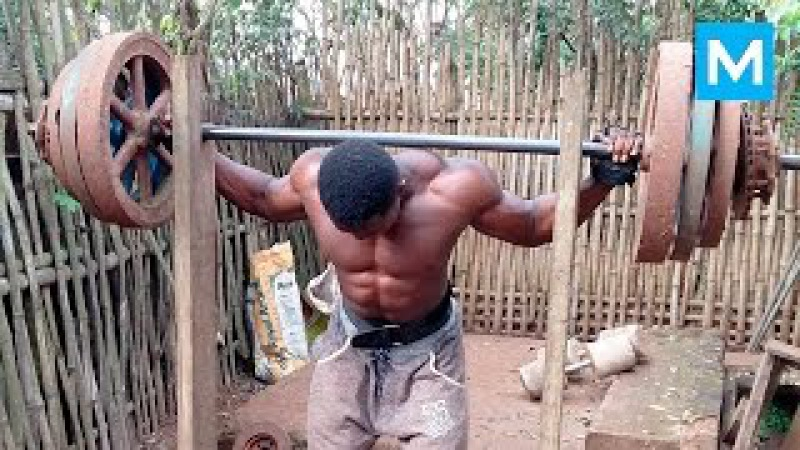 No excuses - African Bodybuilders   Muscle Madness