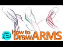 HOW TO DRAW ARMS - A Process Tutorial