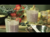 Cannabis Crunch Breakfast Smoothie Banana Berry Shake Infused Eats #2 #highway420