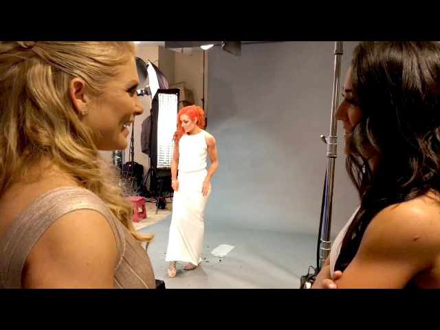 Bayley speaks with new WWE Hall of Famer Beth Phoenix