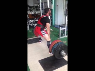 Guketlov Marat deadlift 300kg (24 years, weight 90 kg)