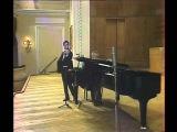 Schnittke. Sonata for Violin № 1. Vldimir Spivakov (violin) and Leonid Block (piano)