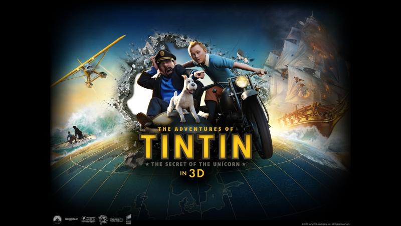 Приключения Тинтина: Тайна Единорога (2011) BDRip 1080p