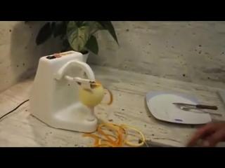 Автоматическая чистка апельсина