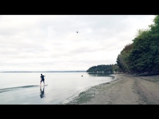 Серфинг с дроном