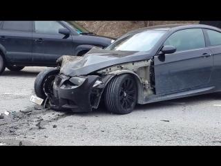 Авария в п. Ольгинка 22 марта 2017