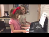 My students playing French folk song